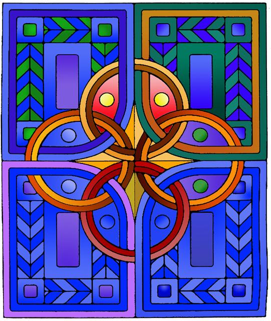 Cool Warm Color Scheme Design
